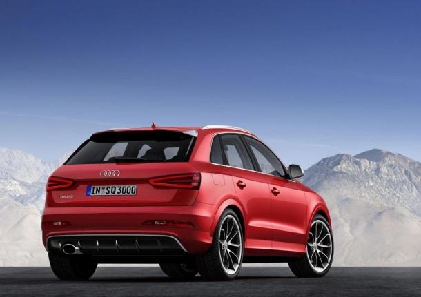 Audi RS Q3 (2013) první oficiální fotky