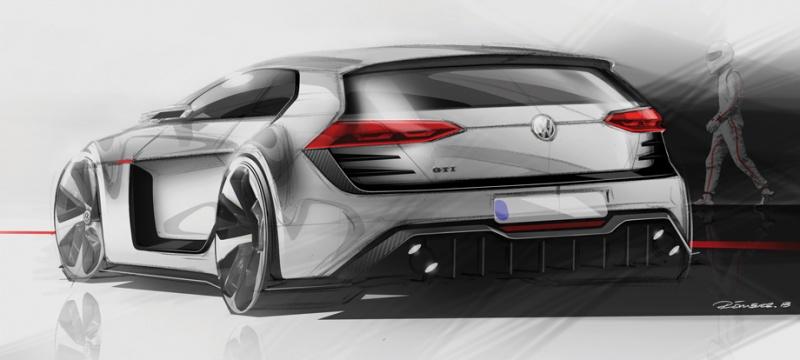 Volkswagen Design Vision GTI koncept