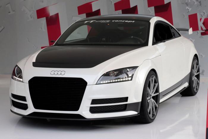 Audi TT ultra quattro koncept